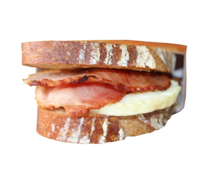Egg Bacon Breakfast Toastie