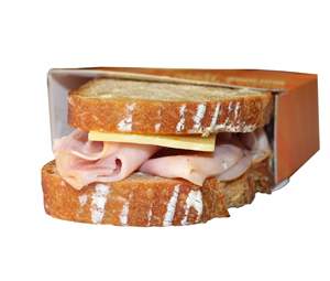 Ham Cheese Breakfast Toastie