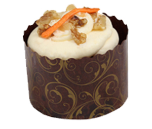 Carrot cake cut out