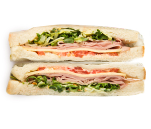Ham Seeded Mustard Sandwich