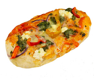 Capsicum Spinach Turkish Pita