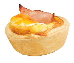 Egg Bacon Breakfast Pie